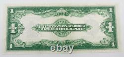 1923 Us Mint $ 1 Joint Bleu Certificat D'argent Billet De Banque Note Unc # 342d