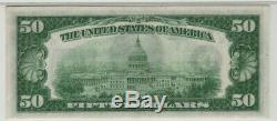 1928 A 50 $ Réserve Fédérale Note Devise Atlanta Fr. 2101-fdgs Pmg Gem Unc 65 Epq