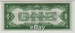 1928 B 1 $ Certificat Argent Note Devise Ib Fr Bloc. 1602 Pmg Gem Unc 65 Epq