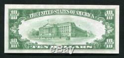 1929 $ 10 Chase Nb De La Ville De New York, Ny Monnaie Nationale Ch. # 2370 Unc