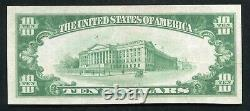1929 $10 Farmers National Bank Of Kittanning, Pa Monnaie Nationale Ch. #3104 Unc