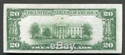 1929 $ 20 Bank Of America San Francisco, Ca Monnaie Nationale Ch # 13044 Gem Unc