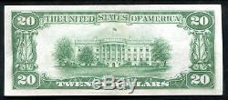 1929 20 $ Le Riggs De Washington Nb, D. C. Monnaie Nationale Ch # 5046 Unc (j)