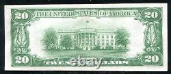 1929 $20 The Riggs Nb Of Washington, D.c. National Currency Ch #5046 Unc (l)