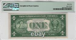 1935 A $1 Silver Certificate Star Note Devise Fr. 1608 Pmg Choix Unc 64 Epq