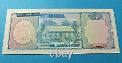 1974 Cayman Islands Currency Board 50 Dollars Billet De Banque Unc