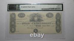 $1 1823 Catskill New York Ny Obsolete Currency Bank Note Bill! Réimpression De L'unc66epq