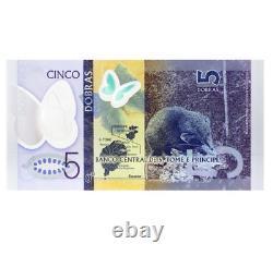 2016-2021 Sao Tomé-et-principe 5 10 20 50 100 200 Dollars Banknote Monnaie Unc