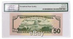 2019 Apollo 11 Monnaie Set 50 $ Note Pmg 68 Epq Gem Unc Fr