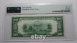$20 1929 Cooperstown New York Ny National Currency Bank Note Bill #280 Unc64 Pmg
