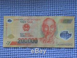 2 Millions De Dôngs 200 000 X 10 Dong Monnaie Vnd Billets Presque Unc