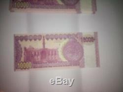 300 000 Dinars Saddam Hussein En Irak Irak Monnaie Argent Remarque Unc Banknote Bill