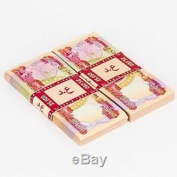3 X 25 000 Dinars Irakiens 25k Uncirculated 75 000 Total Des Iqd 2003 Iraq Monnaie
