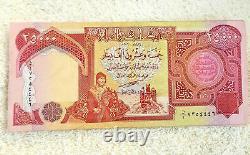 400.000 Dinar Irakien 16 X 25000 Billets Unc 250000 Iqd Monnaie Vérifiée