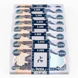 40 X 5 000 Dinar Iraquien 5k Non Circulé 200 000 Iqd Total 2003 Iraq Currency