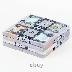 40 X 5 000 Dinars Iraquiens 5k Non Circulés 200 000 Iqd Total 2003 Iraq Monnaie