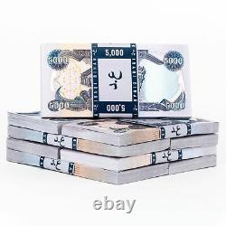40 X 5 000 Nouveaux Billets De Banque Non Circulés En Dinar Iraquien 200 000 Iraq Devise 5k Iqd