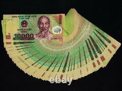 50 X 10.000 (10000) Vietnam Dong Billets De Monnaie Lot 1/2 Million Unc Vnd 50pcs