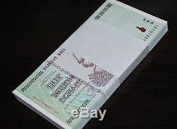 50x 50 Billions De Zimbabwe Dollars Monnaie De L'argent. Unc USA Vendeur
