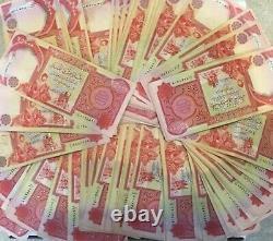5 X 25 000 Billets En Dinars Iraquiens Cnu = 125 000 Dinars (iqd) Monnaie / Monnaie