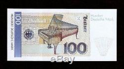 Allemagne 100 Marks P41 1989 Piano Fork Pre Euro Unc Billets De Banque Billets De Banque