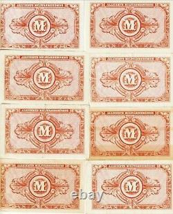 Allemagne-lot-(21), 10 Mark Allied Military Currency1944, Unc-ef Condpick#194-a