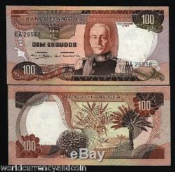 Angola 100 Escudos P101 1972 Bundle Usine Arbre Unc Monnaie Argent Bill 100 Note