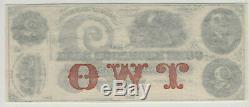 Banque 1860 $ 2 Corn Exchange Wapun Wisconsin Obsolète Monnaie Pmg Gem Unc 65 Epq