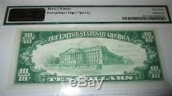 Billet De Banque National En Monnaie Nationale De 1929 Elverson, Pennsylvanie, Pennsylvanie, Projet De Loi N ° 10775 Unc63
