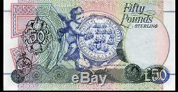 Billets De Banque £ 50 Livres De First Trust Bank Belfast 1994 1998 2009 En Monnaie Réelle