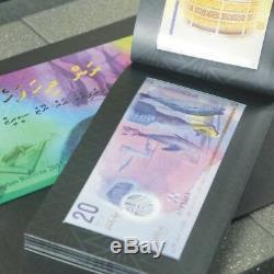 Billets De Banque Des Maldives Assortis Du Numéro De Série 7 Pc Set Nd 2015 2015