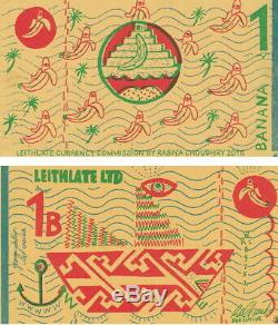 Billets De Banque Scotland Leith 1 Banana Unc En Monnaie Locale