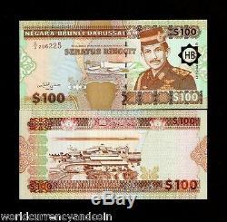 Brunei 100 Ringgit P26 1996 Avion Sultan Unc Billets De Banque En Monnaie Mondiale