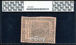 Cc-24 Le 17 Février 1776 2 $ Continental Pcgs À Propos De Unc-58ppq Rare