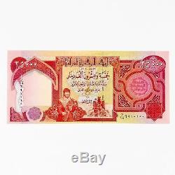 Dinar Irakien 25.000 X 3 Irak Monnaie Billets = 75000 Ongecirculeerd Iqd 25k