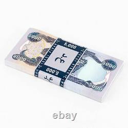 Dinar Iraquien 5 000 X 40 Billets En Monnaie Iraquienne = 200 000 Iqd 5k Non Circulés