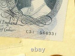 Elizabeth II Devise Prédécimale Et 3 Billets Non Encadrés 1953 1971