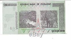 Erreur, 50 Milliards De Dollars En Monnaie Zimbabwéenne En Argent. 10 20 100