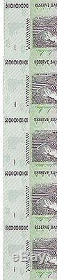 Erreur, 5x 50 Billions De Dollars En Monnaie Zimbabwéenne En Argent. 10 20 100
