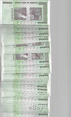 Erreur Sur Le Paquet, 50 Trillions De Monnaie En Dollars Zimbabwéens. 10 20 100
