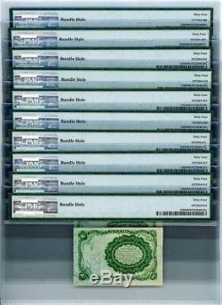 Fr. 1265 DIX Cent 10c 5ème Numéro Fractional Currency Ch Unc64 Pmg