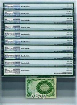 Fr. 1265 Ten Cent 10c 5 E Numéro Fractional Currency Ch Unc64 Pmg 929145-17