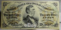 Fr. 1294 25 Vingt-cinq Cents Troisième Question Monnaie Mantisse Note Gem Unc