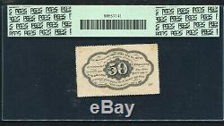 Fr. 1310 50 Cents Premier Numéro Fractional Currency Remarque Gpc Unc-perforée 63