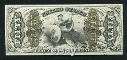Fr. 1362 50 Cinquante Cents Troisième Question De Justice Fractional Currency Note Gem Unc
