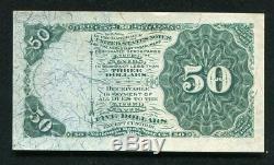 Fr. 1379 50 Cinquante Cents Quatrième Question Dexter Fractional Currency Note Gem Unc