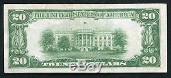 Fr. $ 20 2402 1928 Vingt Dollars Certificat D'or Monnaie Remarque À Propos Unc