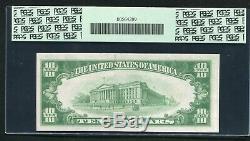 Fr. 2400 1928 10 $ Ten Dollars Certificat D'or Monnaie Remarque Gpc Unc-61