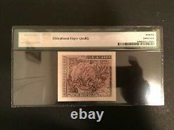 Japon Allié Militaire Wwii Monnaie 10 Sen 1945 Pmg Gem Unc