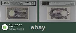 Jordan, Currency Board P-1s1, Specimen Pmg 64 Extremely Rare Top Grade